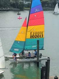 Hobie Cat at Summer Campm